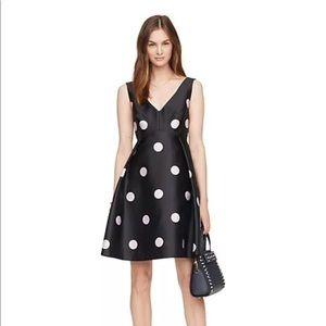 Kate Spade Spotlight V-neck Dress 10